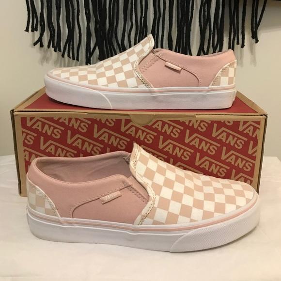 Vans Shoes | Vans Asher Slip Ons | Poshmark